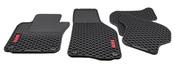 VW Floor Mat Set Rubber - Genuine VW Audi 1K1061550041