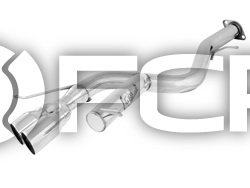 """BMW MACH Force-Xp 3"""" 304 Stainless Steel Axle-Back Exhaust System - aFe 49-36302-P"""