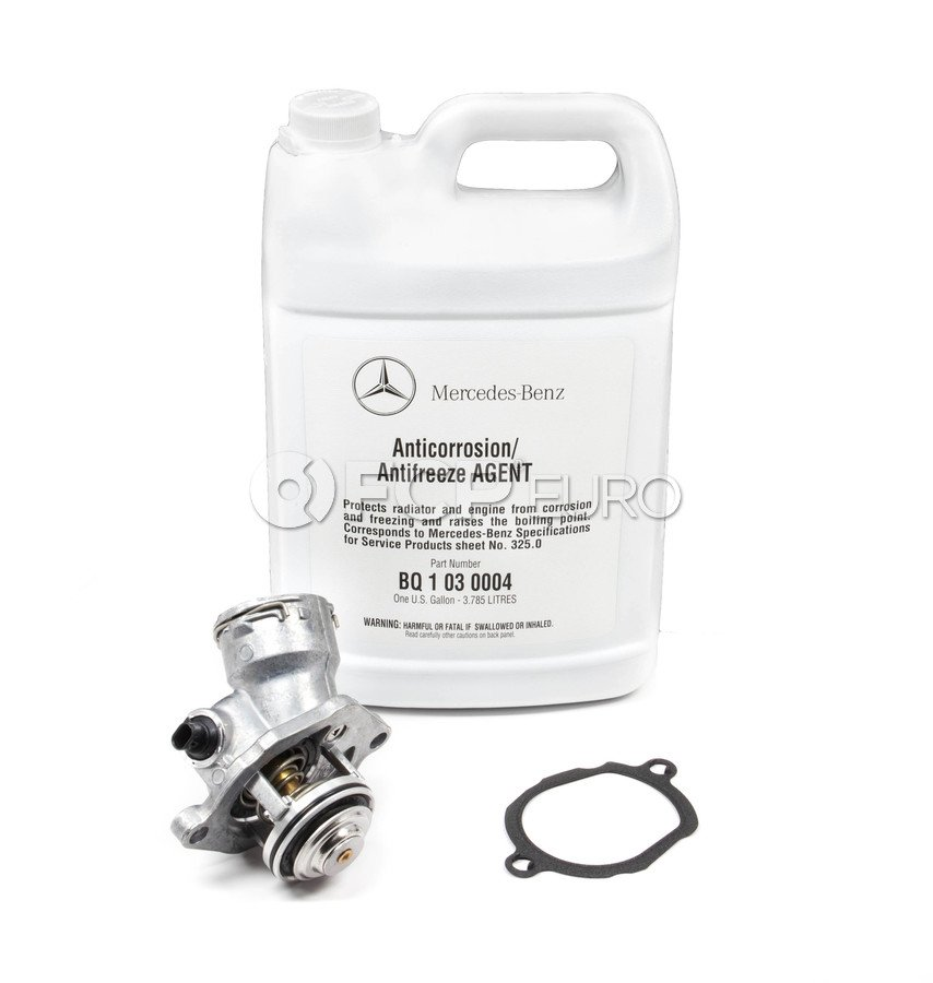 Mercedes-Benz Engine Coolant Thermostat - Borg Warner 2722000415KIT