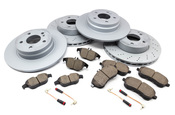 Mercedes Brake Kit - Akebono C300BKAZ