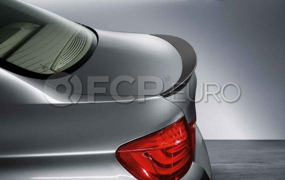 BMW M Performance Carbon Fiber Spoiler - Genuine BMW 51622163505