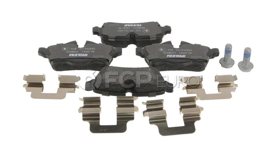 Mini Brake Pad Set - Textar 2428901