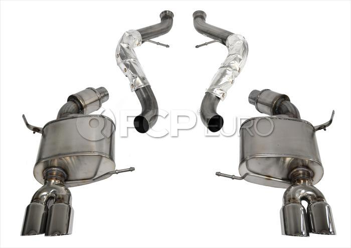 BMW Polished Axleback Exhaust - Corsa 14568
