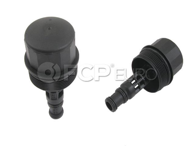 Mercedes Engine Oil Filter Cover - Genuine Mercedes 2721800038