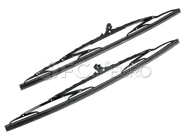 Mercedes Windshield Wiper Blade Set - Bosch 3397001014