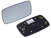 Porsche Door Mirror Glass - Genuine Porsche 91173103508
