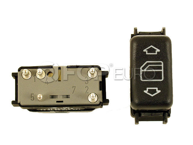 Mercedes Door Window Switch - Genuine Mercedes 1248208910