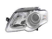 VW Headlight Assembly - Hella 3C0941005L