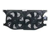 Mercedes Cooling Fan Shroud - Valeo 1635000155