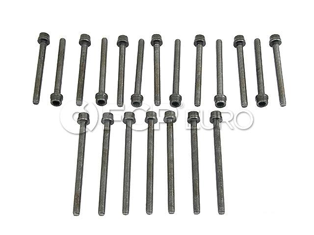 Audi VW Cylinder Head Bolt Set - Reinz 022198384A