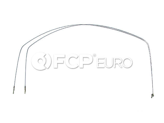 VW Heater Control Cable - Cofle 133711717B