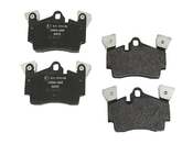 Porsche Brake Pad Set - Pagid 355011471