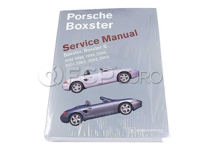 Porsche Repair Manual - Bentley PB04