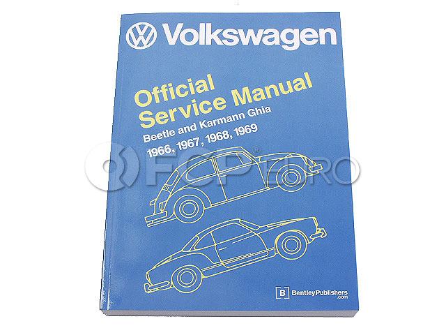 VW Repair Manual - Bentley V121
