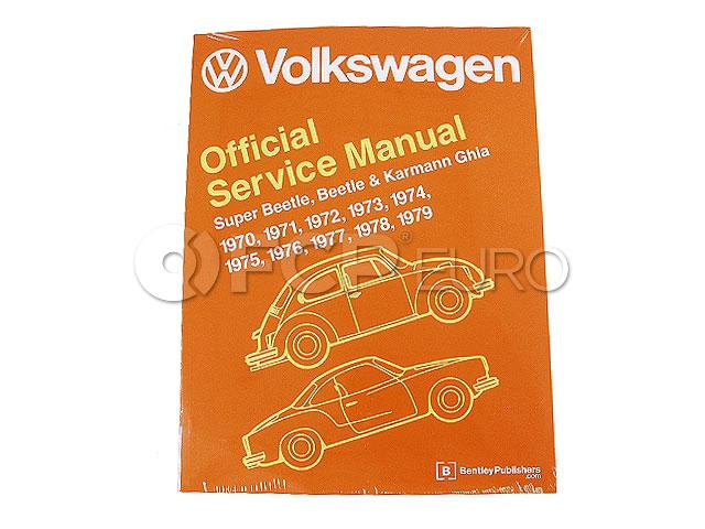 VW Repair Manual - Robert Bentley VW8000179