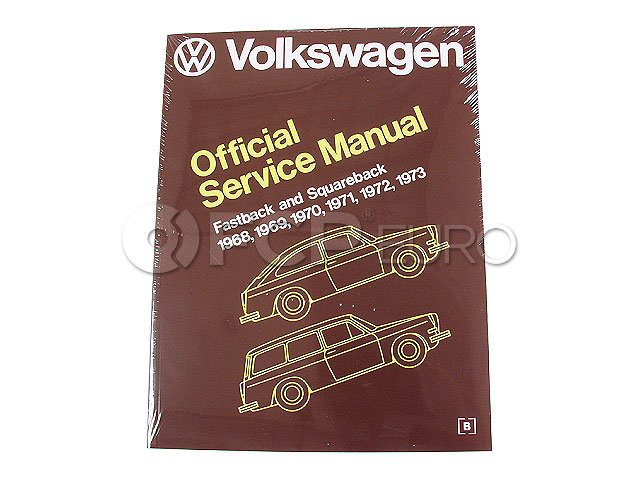 VW Repair Manual - Robert Bentley VW8000311