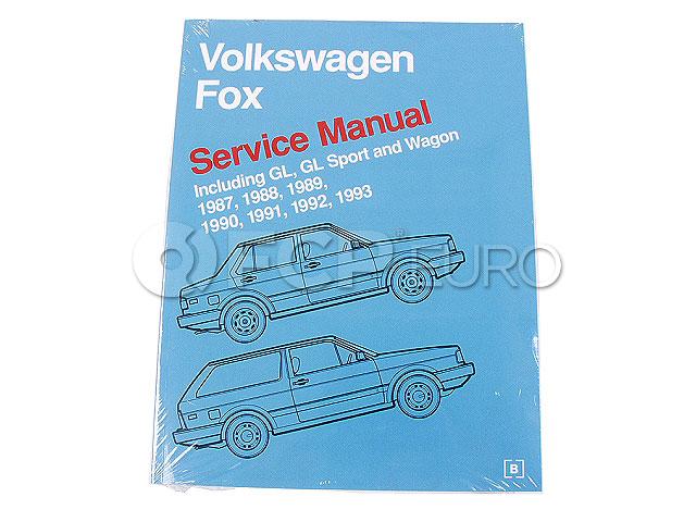 VW Repair Manual - Bentley VF93