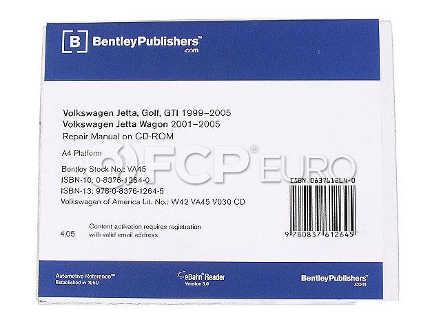 VW CD-ROM Repair Manual - Bentley VW8056005