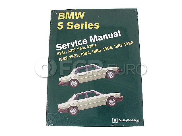 BMW Repair Manual - Bentley B588