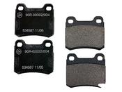 Mercedes Brake Pad Set - Textar 0004209820