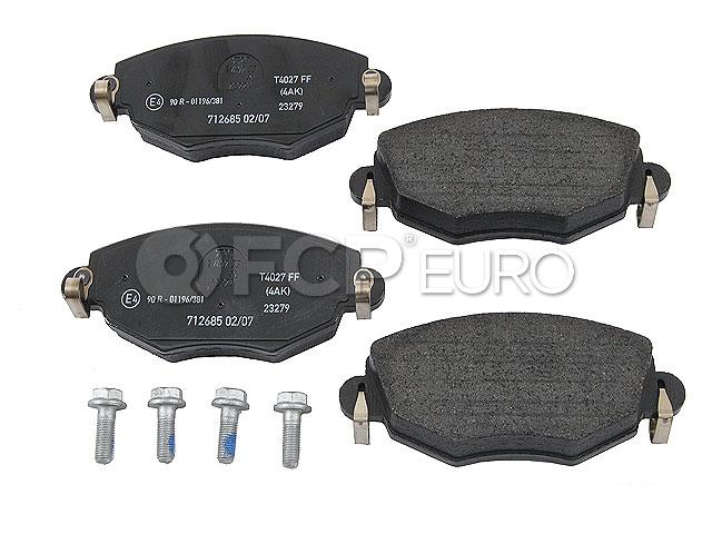 Jaguar Brake Pad Set - Textar D910T