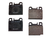 Mercedes Brake Pad Set - TRW 0014207320