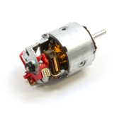 Porsche A/C Condenser Fan Motor - Bosch 0130007081