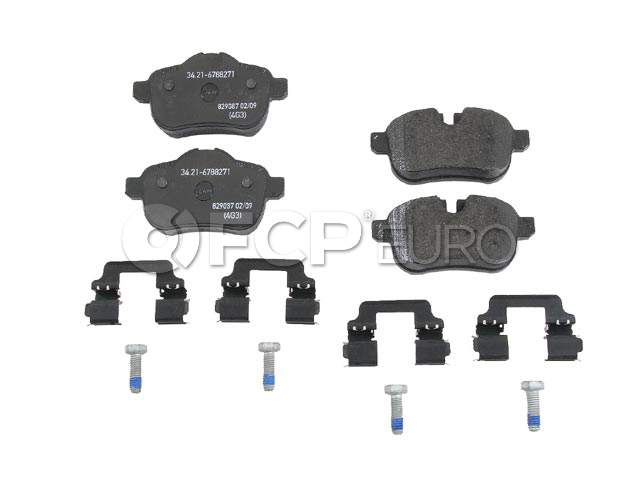 BMW Brake Pad Set - Genuine BMW 34216788275