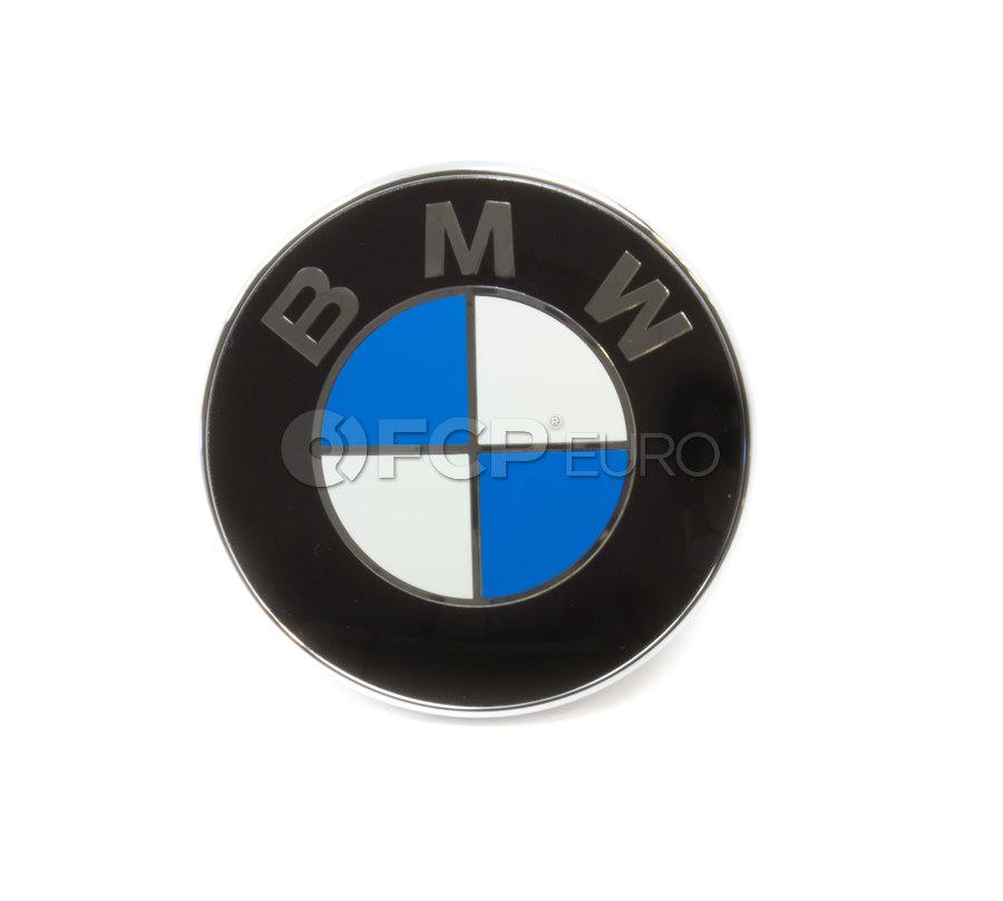 BMW Roundel Emblem - Genuine BMW 51147044207