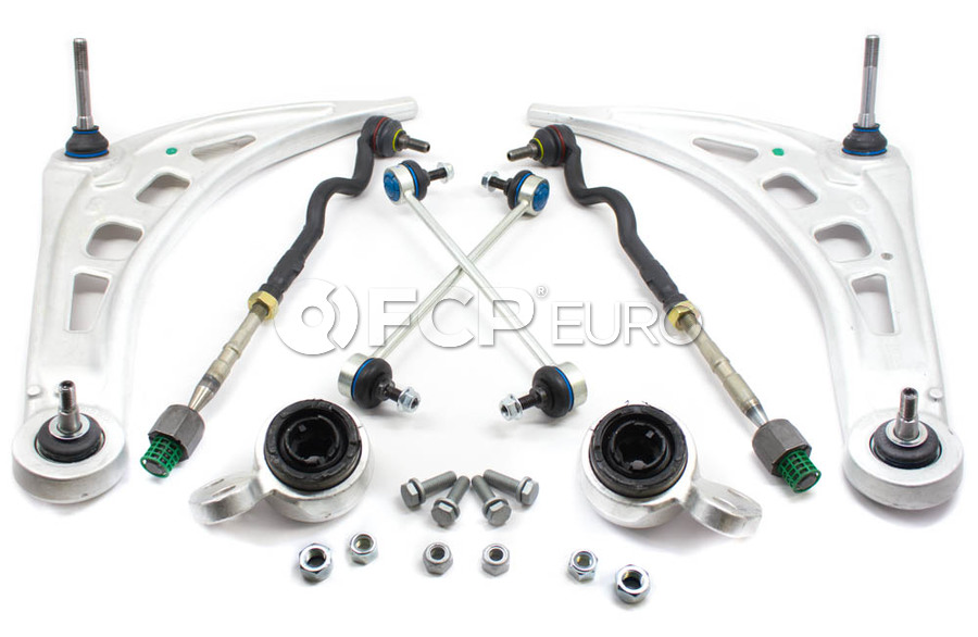 BMW 8-Piece Control Arm Kit - E46CAKITMY