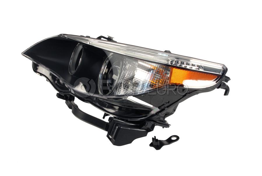 BMW Bi-Xenon Headlight Assembly Left - Hella 63127166119