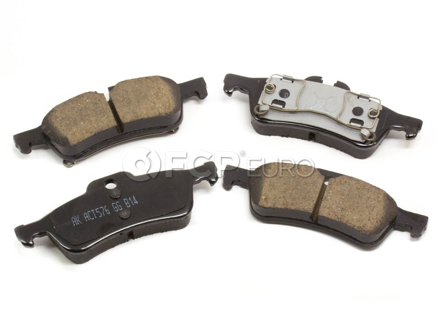 Mini Brake Pad Set - Akebono EUR1060