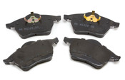 Audi VW Brake Pad Set - Akebono 8D0698151C