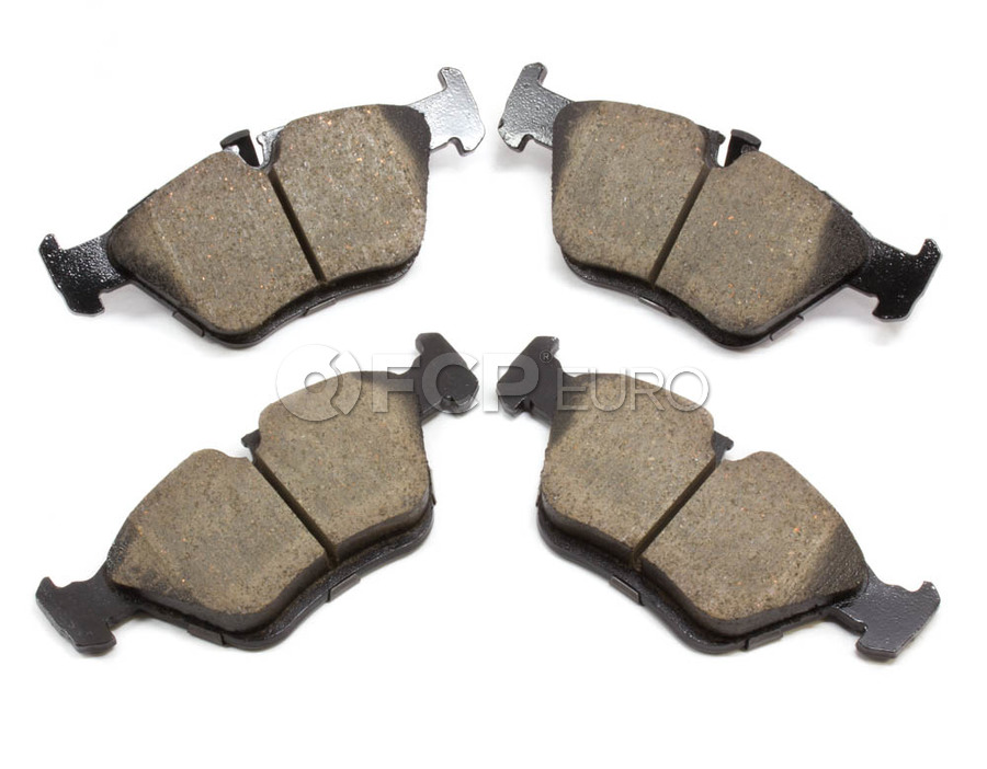 BMW Brake Pad Set - Akebono EUR725