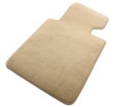 BMW Beige Carpeted Floor Mat Set - Genuine BMW 51478227522