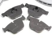 BMW Brake Kit - Zimmermann/Akebono 34116750267KTFR3