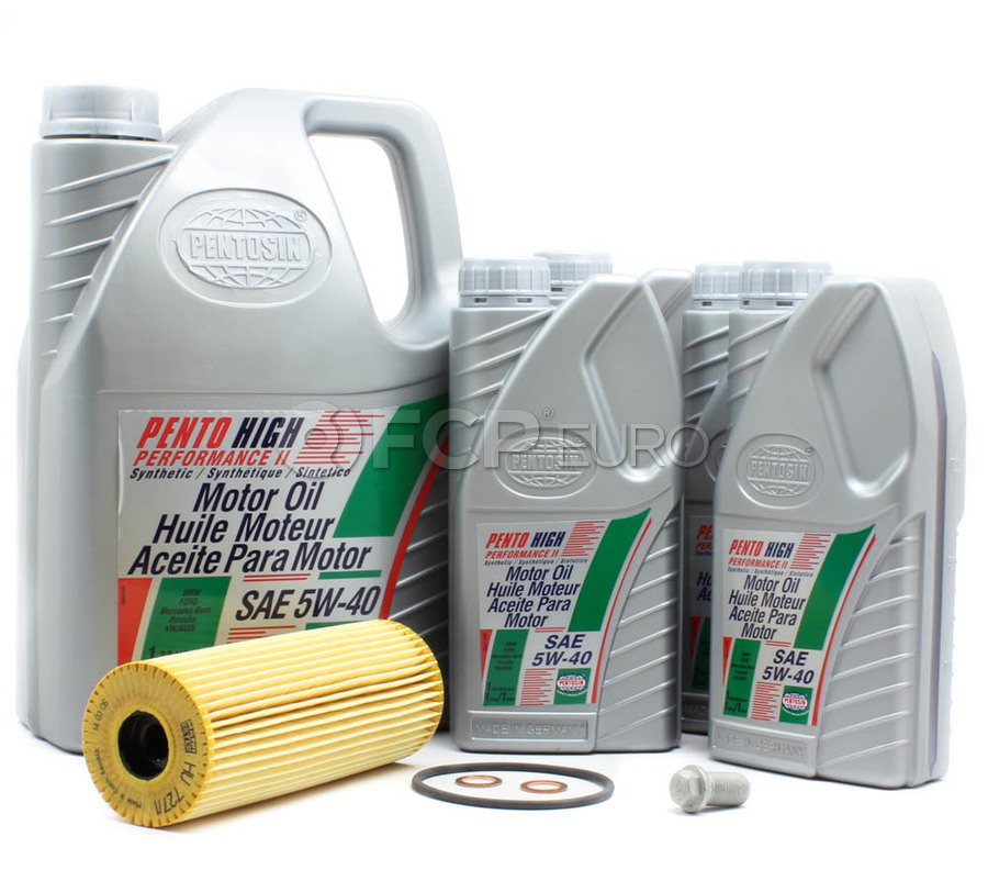 Mercedes Oil Change Kit 5W-40 - Pentosin OILKITHU727