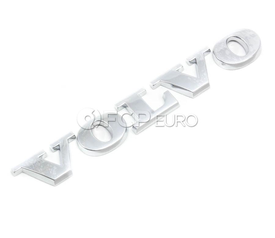 Volvo Trunk Badge Emblem - Genuine Volvo 9203328