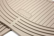 BMW Rubber Floor Mat Set Beige - Genuine BMW 51470151502
