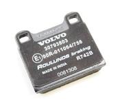 Volvo Brake Pad Set - Genuine Volvo 30793802