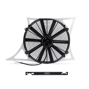 BMW Aluminum Fan Shroud Kit - Mishimoto MMFS-E46-01