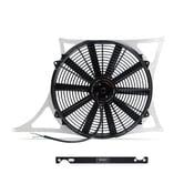 BMW Aluminum Fan Shroud Kit With Probe - Mishimoto MMFS-E46-01K