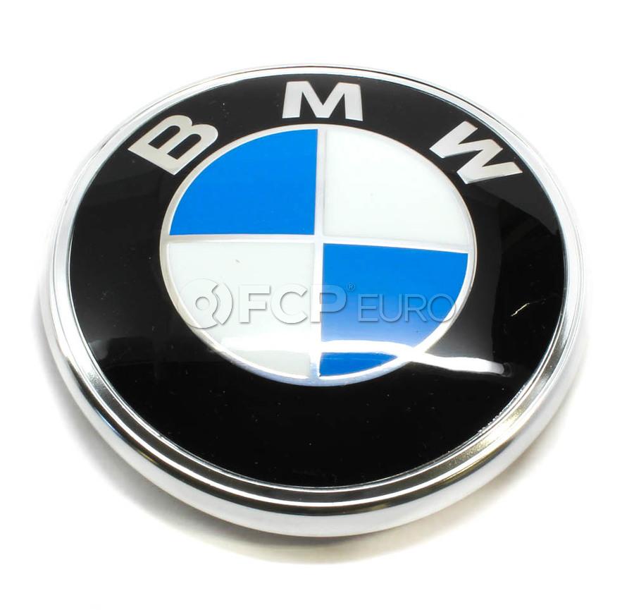BMW Trunk Lid Emblem - Genuine BMW 51141872328