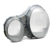 Mercedes Headlight Lens - Hella 2108201580