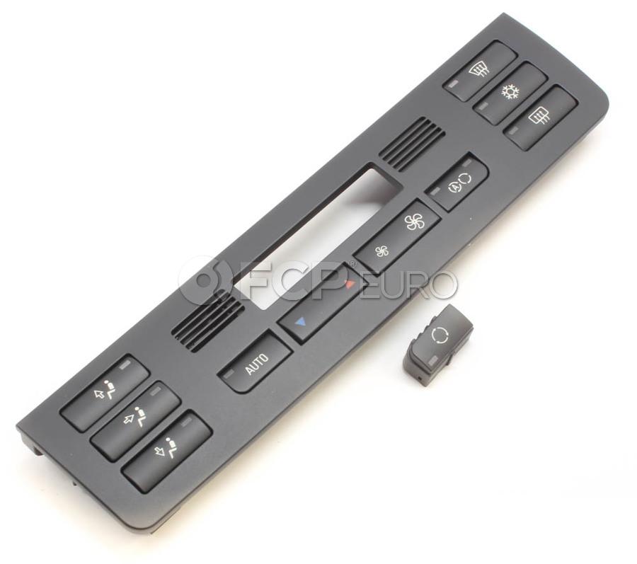 BMW HVAC Temperature Control Panel - Genuine BMW 64118387642