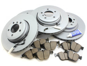 BMW Brake Kit - Zimmermann/Akebono 34116864057KTFR
