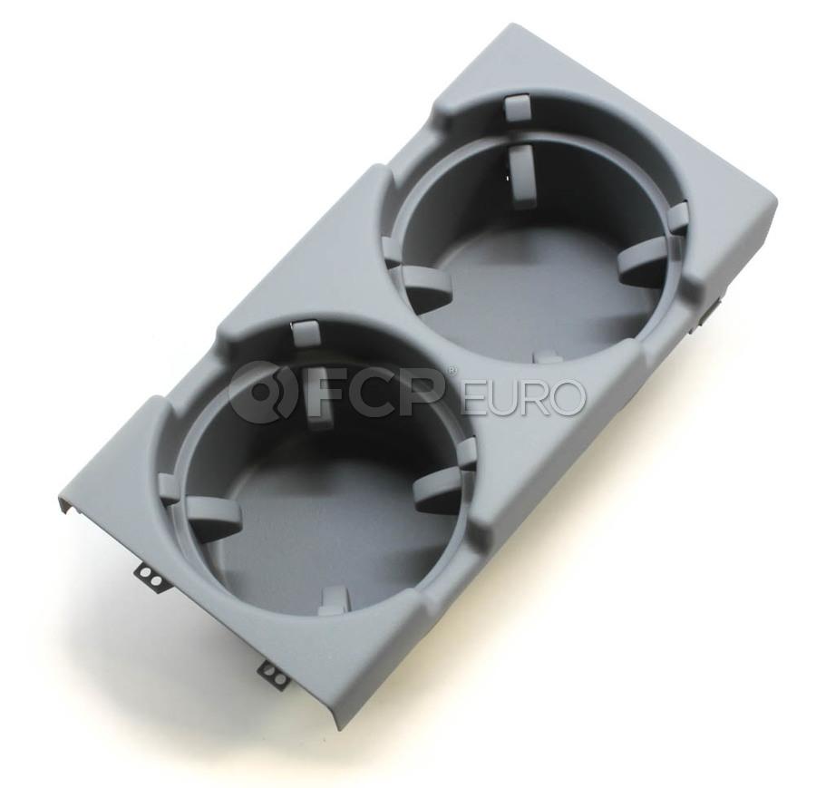 BMW Cup Holder Grey - Genuine BMW 51168248504