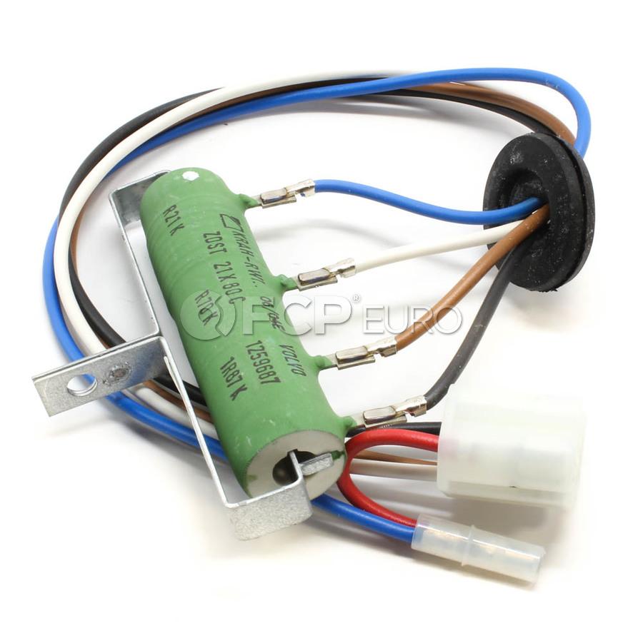 Volvo Blower Motor Resistor - Skandix 1002747
