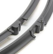 VW Porsche Windshield Wiper Blade Set - Bosch 3397118942