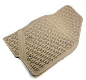 Volvo Rubber Floor Mat Set Beige - Genuine Volvo 39891793